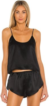 Celine Silk Cami in Black. - size XS (also in S)