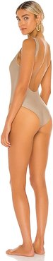 Contour One Piece in Taupe. - size S (also in XS)