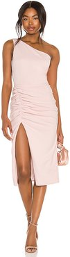 X REVOLVE New Age Dress in Pink. - size L (also in M, S, XS)