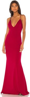 Stamina Gown in Red. - size L (also in M)