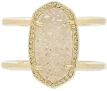 Elyse Ring in Metallic Gold. - size 6 (also in 7, 8)
