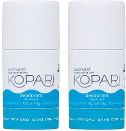 Coconut Deodorant Mini Duo in Original.