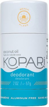 Coconut Deodorant in Beach.