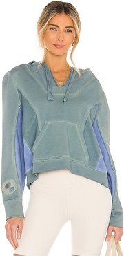 Alouette Hoodie in Blue. - size L (also in M, S, XS)