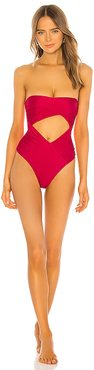 The Bianca One Piece in Red. - size M (also in XS)