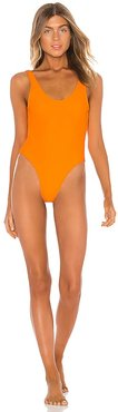 Axel One Piece in Tangerine. - size XL (also in XS)