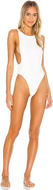 The Kerr One Piece in White. - size L (also in M, S, XXS)