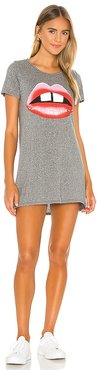 Lana T Shirt Dress in Grey. - size L (also in S)