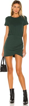 Jenner Mini Dress in Green. - size L (also in XL, XS)
