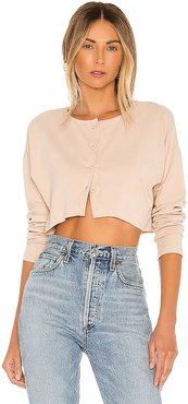 Keaton Cropped Sweater. - size M (also in XL, XS)