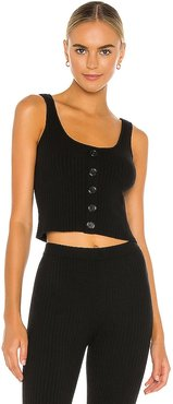Mariposa Tank in Black. - size L (also in M, S, XS)