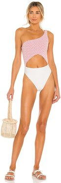 Lovers and Friends Freedom One Piece in Pink. - size L (also in M, S, XL)
