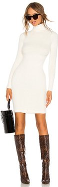 Surrey Sweater Dress in Ivory. - size L (also in M, S)