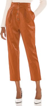 Clive Pant in Brown. - size M (also in S, XL)