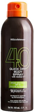 Quick Dry Body Spray with SolSci-X in Beauty: NA.