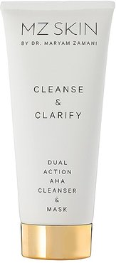 Cleanse & Clarify Dual Action AHA Cleanser & Mask in Beauty: NA.