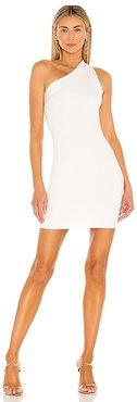 Solstice One Shoulder Dress in White. - size L (also in M, S, XL, XS, XXS)