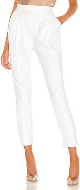 Frances Pant in Ivory. - size L (also in XL)