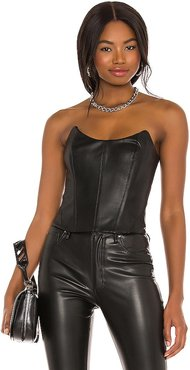 Yennefer Bustier Top in Black. - size M (also in S, XL)