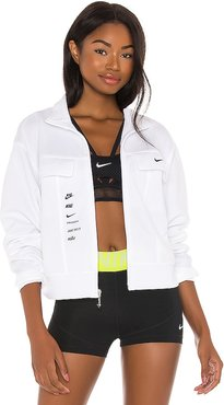 NSW Swoosh Jacket in White. - size L (also in M)