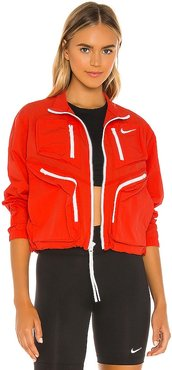 NSW Tech Packet Jacket in Red. - size L (also in M)