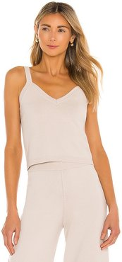 Toni Tank in Nude. - size L (also in M, S, XS)