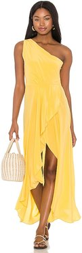 Alexa Dress in Yellow. - size M (also in S, XS)