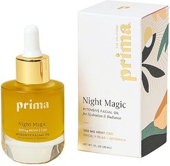 300mg CBD Night Magic Intensive Facial Oil for Hydration & Radiance in Beauty: NA.