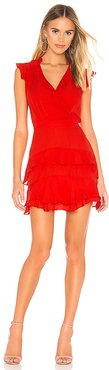 Tangia Dress in Red. - size 4 (also in 6)