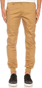 Legacy Jogger in Tan. - size 28 (also in 30)
