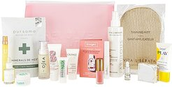 Clean Beauty Bag in Deluxe Size.