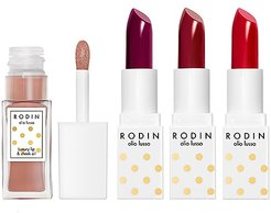 Luxury Lip Couture Set in Red Hedy, Loving Lucy, Billie on the Bike & Heavenly Hopp.