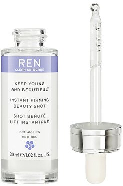 Keep Young and Beautiful Instant Firming Beauty Shot.