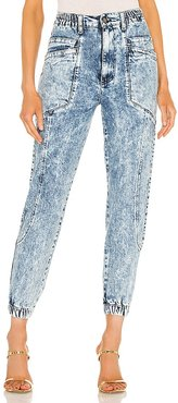 Myla Pant in Blue. - size 24 (also in 25, 26, 28, 29, 30)