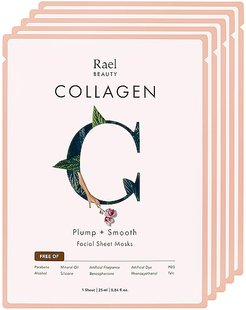 Collagen Mask 5 Pack Set in Beauty: NA.