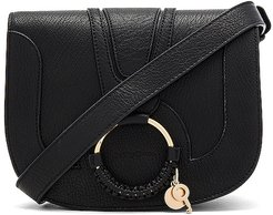 Hana Small Crossbody Bag in Black.