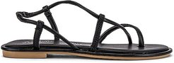 Accomplishment Sandal in Black. - size 10 (also in 6, 6.5, 7.5, 8, 8.5, 9, 9.5)