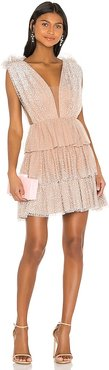 Beth Dress in Tan. - size 0 (also in 2, 4, 6, 8)