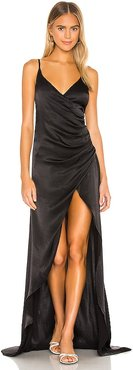 Savannah Gown in Black. - size 0 (also in 10, 2, 4, 6)