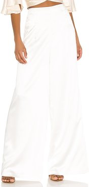 Elsie Pants in White. - size 0 (also in 2, 4, 8)
