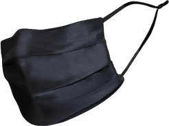 Reusable Face Covering in Black.