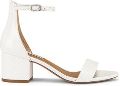 Irenee Sandal in White. - size 10 (also in 6, 6.5, 7.5, 9.5)