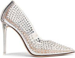 Vala-r Heel in Metallic Silver. - size 10 (also in 6.5, 8, 8.5, 9.5)