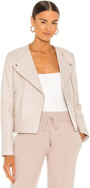 Victoria Jacket in Taupe. - size L (also in M, S, XS)
