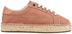 Izzy Espadrille Sneaker in Mauve. - size 5 (also in 5.5, 6, 6.5, 7.5, 8, 9.5)