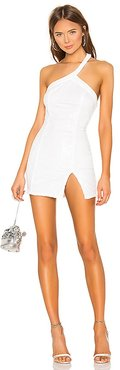 Cicely Mini Dress in White. - size L (also in XL)