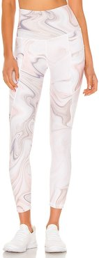 Flynn Ankle Pant in Pink. - size L (also in M, S, XS)