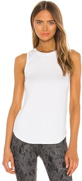 Judy Tank in White. - size L (also in M, S, XL, XS)