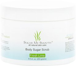 Fresh Lime Body Sugar Scrub in Fresh Lime.
