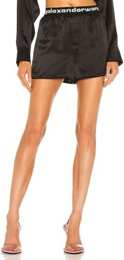 Boxer Short in Black. - size L (also in M, S, XS)